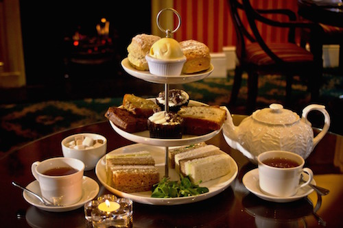 Afternoon Tea At The Leonard Boutique Hotel Central London