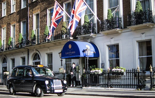 Boutique hotel central london the leonard for Boutique hotels london